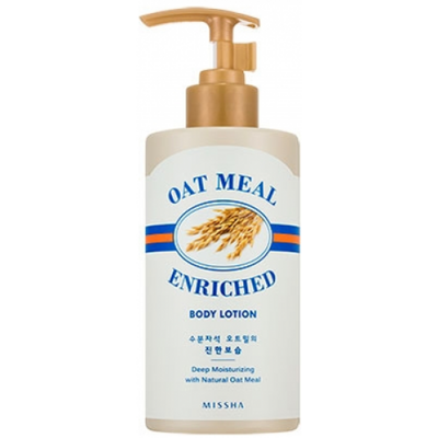 Молочко для тела MISSHA Oat Meal Enriched Body Lotion