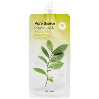 Маска для лица MISSHA Pure Source Pocket Pack (Green Tea) 10 мл