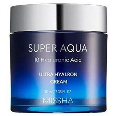 Увлажняющий крем MISSHA Super Aqua Ultra Hyalron Cream 70 мл