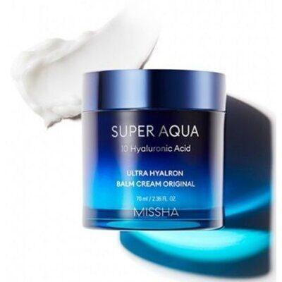 Увлажняющий крем-бальзам MISSHA Super Aqua Ultra Hyalron Balm Cream Original 70 мл