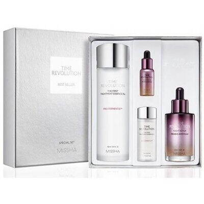 Набор для лица MISSHA Time Revolution Night Repair Best Seller Set
