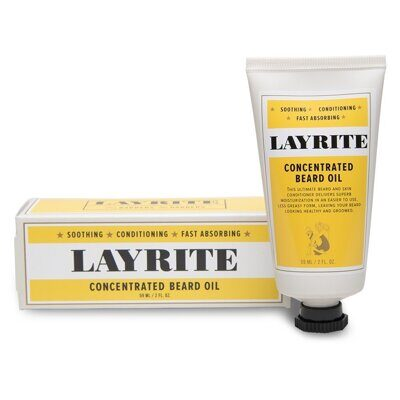 LAYRITE CONCENTRATED BEARD OIL/КОНЦЕНТРИРОВАННОЕ МАСЛО ДЛЯ БОРОДЫ 59 мл